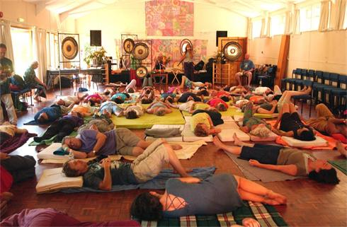 Osho Pulsation Group Room